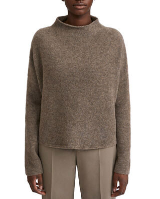 Filippa K Mika Yak Funnelneck Sweater Dark Taupe