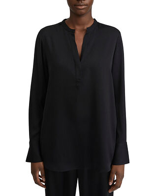 Filippa K Pull-on Silk Blouse Black