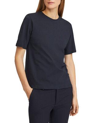 Filippa K Annie Cotton T-Shirt Navy