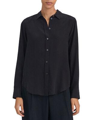 Filippa K Classic Silk Shirt Black