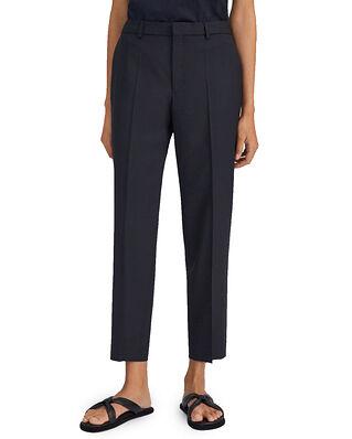 Filippa K Emma Cropped Cool Wool Trouser Dk. Navy