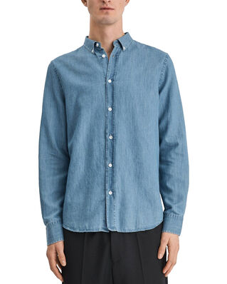 Filippa K M. Lewis Chambray Shirt Light Blue Denim