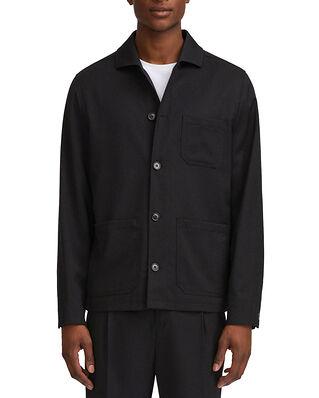 Filippa K M. Louis Gabardine Jacket Black