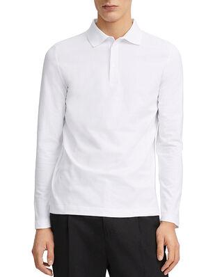 Filippa K M. Luke Lycra Polo Shirt White