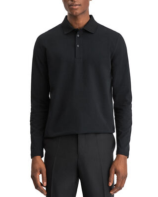 Filippa K M. Luke Lycra Polo Shirt Black