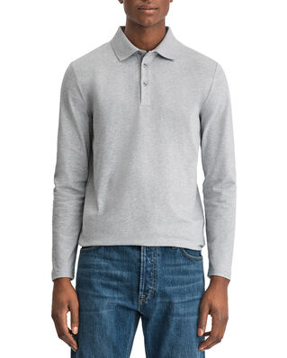 Filippa K M. Luke Lycra Polo Shirt Light Grey