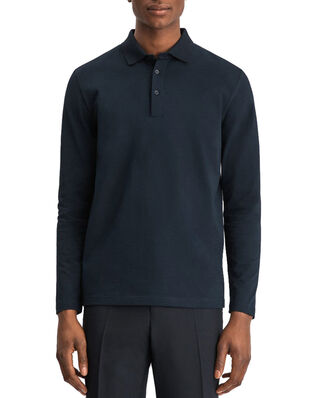 Filippa K M. Luke Lycra Polo Shirt Navy