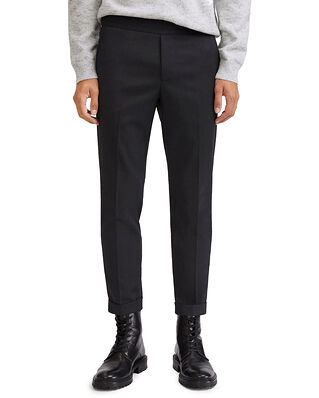 Filippa K M. Terry Cropped Trouser Anthracite
