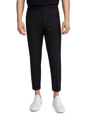 Filippa K M. Terry Cropped Trouser Black