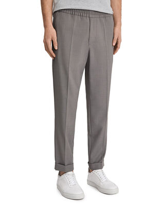 Filippa K M. Terry Cropped Trouser Mid Grey Mel