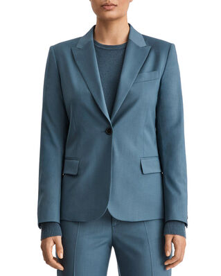 Filippa K Sasha Cool Wool Blazer Blue Grey