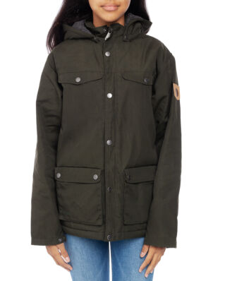 Fjällräven Junior Kids Greenland Winter Jacket Deep Forest