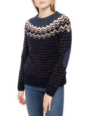 Fjällräven Övik Knit Sweater W Dark Navy