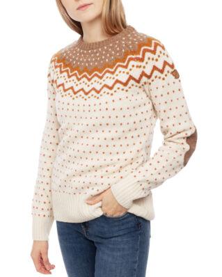 Fjällräven Övik Knit Sweater W Terracotta Pink