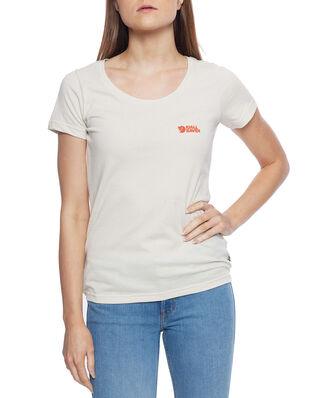 Fjällräven  Fjällräven Logo T-shirt W Chalk White
