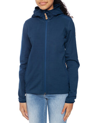 Fjällräven Junior Kids Keb Fleece Hoodie Storm