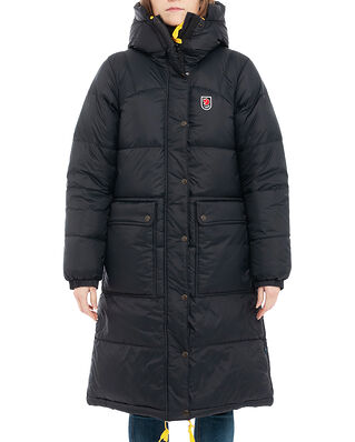 Fjällräven Expedition Long Down Parka W Black