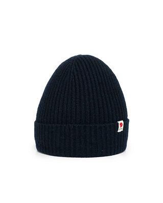 Fjällräven Logo Tab Hat Dark Navy