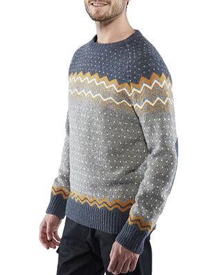 Fjällräven Övik Knit Sweater M Dark Navy