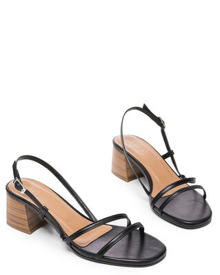 Flattered Elsa Black Nappa