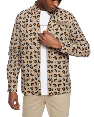 Forét Bear Shirt - Leo Khaki Leo Khaki