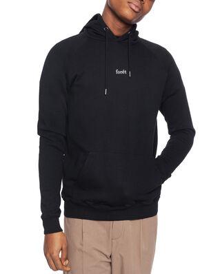 Forét Bison Hoodie  -  Black Black