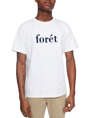 Forét Resin T-Shirt - White/Midnight Blue White/Midnight Blue