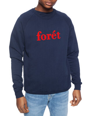 Forét Spruce Sweatshirt - Midnight Blue/Red Midnight Blue/Red