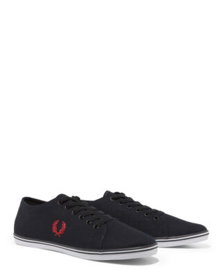 Fred Perry B6259U Kingston Twill Black/Red