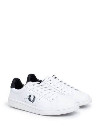 Fred Perry B7211U Leather White/Navy