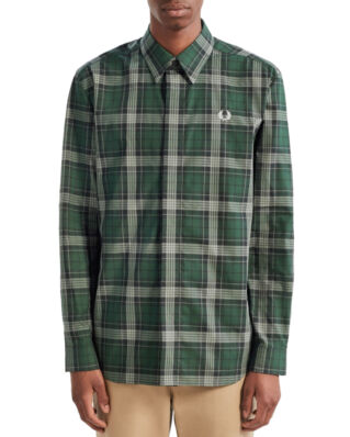 Fred Perry Bold Tartan Shirt Sycamore