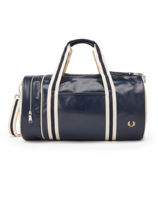 Fred Perry Classic Barrel Bag Navy/Ecru
