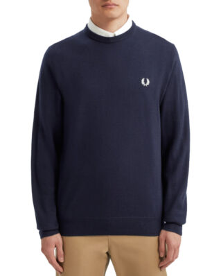 Fred Perry Classic Merino C/N Dark Carbon