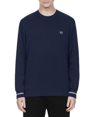 Fred Perry C/N Sweatshirt Carbon Blue