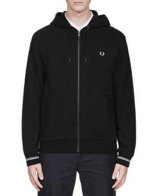 Fred Perry Hooded Sweatshirt Black