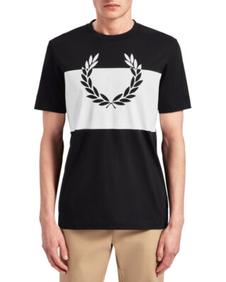 Fred Perry Laurel Wreath T-Shirt Black-Import FW19