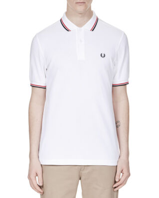 Fred Perry M3600 polo shirt white 748 pique