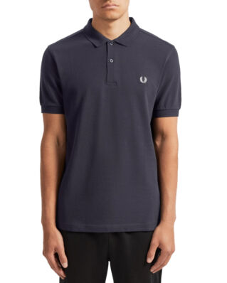 Fred Perry Plain Fred Perry Shirt Navy
