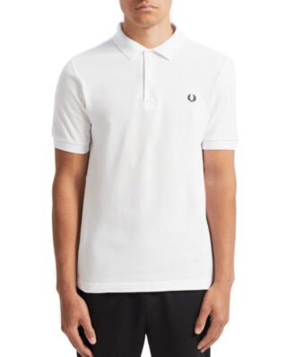 Fred Perry Plain Fred Perry Shirt White