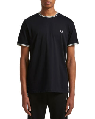 Fred Perry Twin Tipped T-Shirt Black
