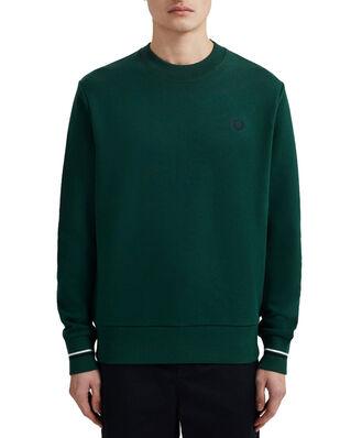 Fred Perry Crew Neck Sweatshirt IVY
