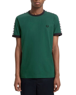 Fred Perry Taped Ringer T-Shirt IVY