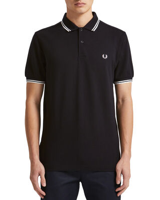 Fred Perry Twin Tipped Fp Shirt BLACK/PORC/PORCE