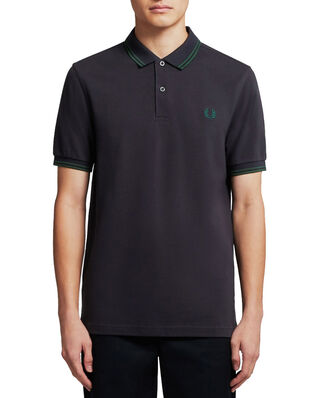 Fred Perry Twin Tipped Fp Shirt NAVY/IVY/IVY