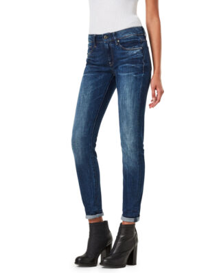 G-Star RAW 3301 Contour High Waist Skinny Jeans Medium Aged