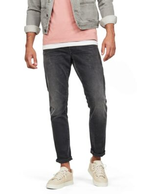 G-Star RAW 3301 Straight Tapered Faded Charcoal