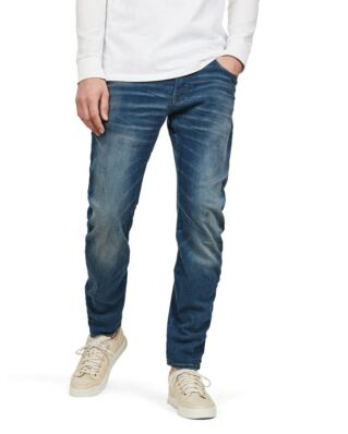 G-Star RAW Arc 3D Slim Worker Blue Faded