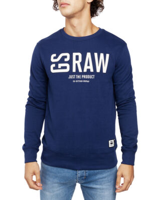 G-Star RAW Graphic 17 Core R Sw L\S Imperial Blue