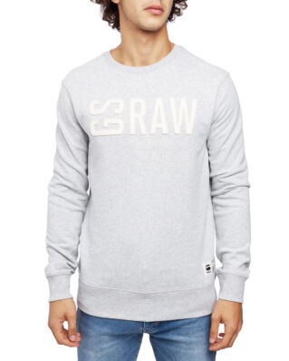 G-Star RAW Graphic 17 Core R Sw L\S Lt Grey Htr