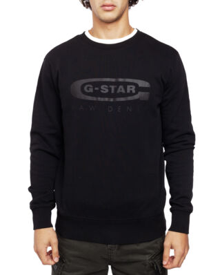 G-Star RAW Graphic 18 Core R Sw L\S Dk Black